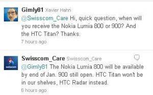 Swisscom conversa twitter Nokia Lumia 900 parte 1