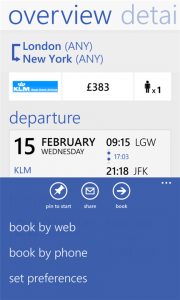 all flights windows phone app