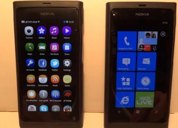 nokia n9 vs lumia 800