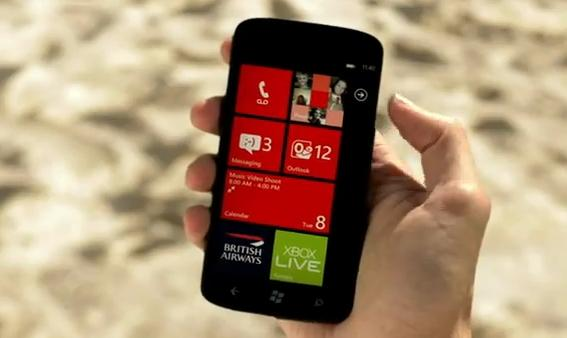 comercial windows phone novo 2012