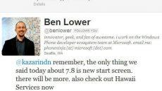Gerente de Desenvolvimento do WP7 diz que o Windows Phone 7.8 terá mais do que apenas a nova tela inicial do WP8