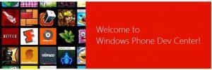 dev center novo portal desenvolvedores windows phone