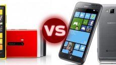 Comparativo entre o Samsung Ativ S e o Nokia Lumia 920