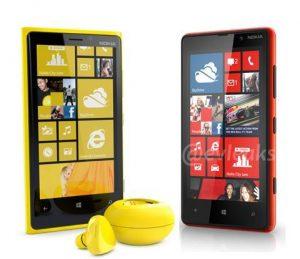 Nokia lumias 820 e 920 fones bluetooth