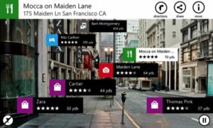 Nokia City Lens app windows phone
