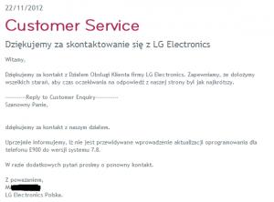 lg support polonia lg optimus 7