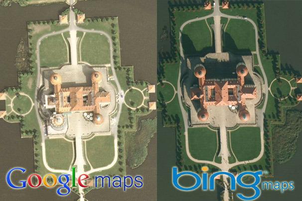Bing Maps vs Google Maps