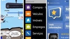 Dicas de aplicativos nacionais para o Windows Phone da penúltima semana de 2012