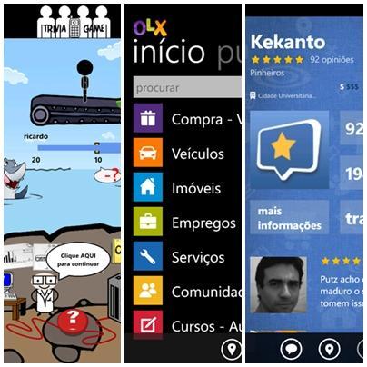 dicas de aplicativos nacionais penultima semana de 2012