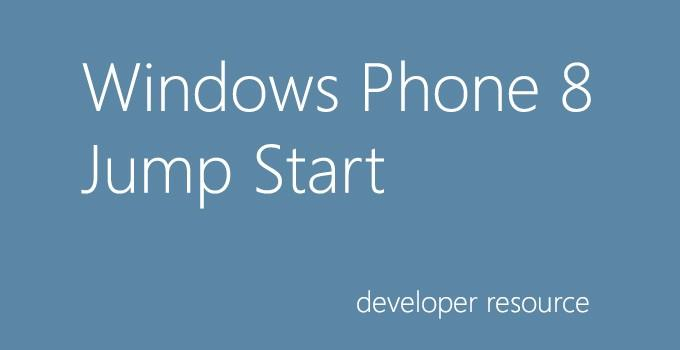 Módulos do curso Jump Start para desenvolvimento de apps para Windows Phone 8 já estão disponíveis