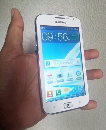 Samsung ativ S table com Android e windows phone 8 menor