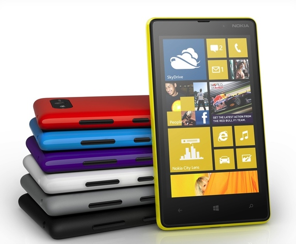 Lumia 820 com windows phone 8