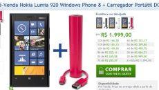 [Atualizado] Nokia dá início a Pré-venda do Lumia 920 em seu site oficial