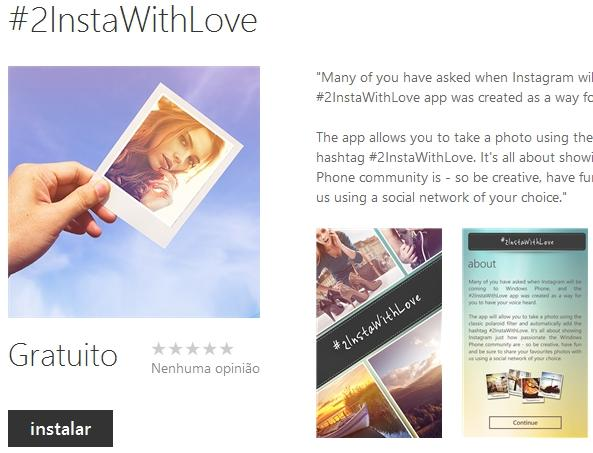#2instawithlove windows phone outros