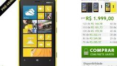 Lumia 920 Amarelo está em pré-venda na loja online da Nokia