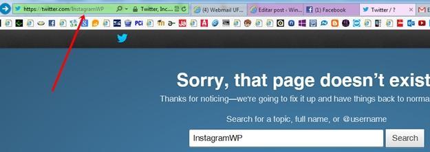 instagramwp perfil twitter cancelado