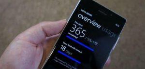 data sense windows phone 8 gdr2