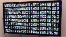 Mural feito com 200 Windows Phones é demonstrada pela Microsoft