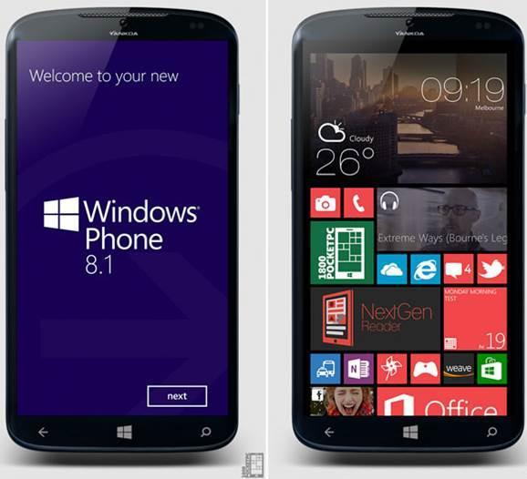 windows phone 8 conceito