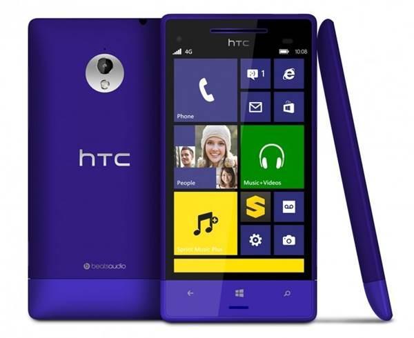 HTC deve lançar novos aparelhos com Windows Phone 8 ainda este ano