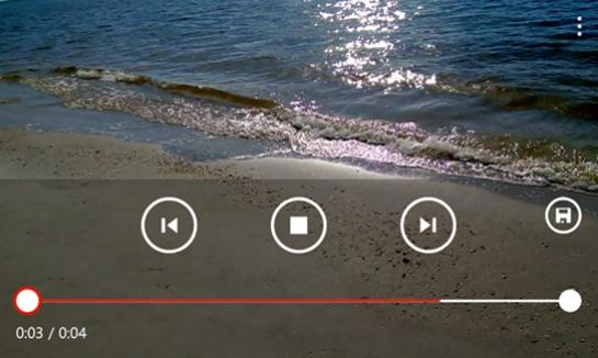 Nokia trimmer app edicao de videos