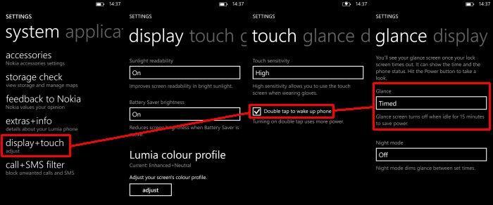 glance nokia lumia windows phone 8 amber