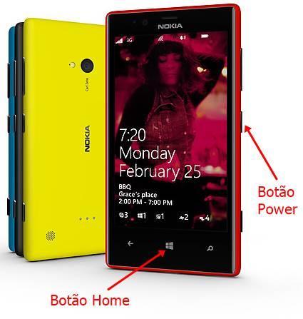 Print Screen windows phone 8 como tirar capturar