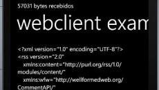 [Desenvolvimento] Obtendo dados da web via REST através da classe WebClient