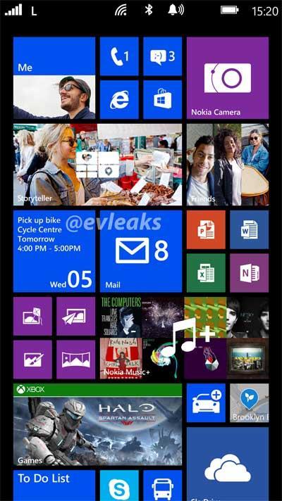 Nokia Lumia 1050 print screen GDR3