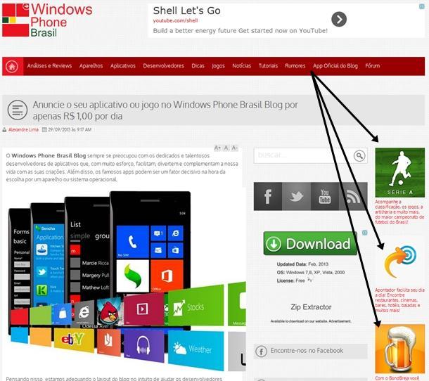 anuncie seu aplicativo no windows phone brasil blog