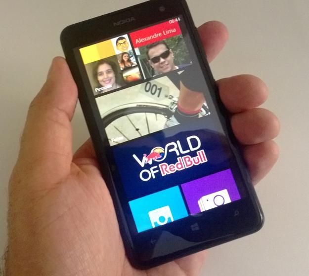 Foto do Nokia Lumia625 review parte 1