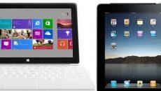Microsoft vai comprar o seu iPad por U$ 200 para você mudar para o Surface