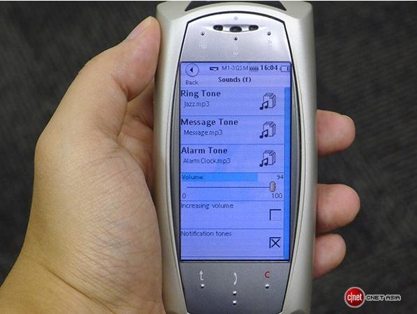 MyOrigo nokia touchscreen smartphone antes do iPhone img3