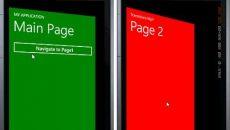 [Desenvolvimento] Efeito de transição entre as páginas da APP para Windows Phone