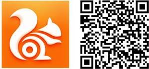 UC Browser logo qr code windows phone apps download