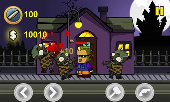 zombies village game windows phone 8 img1