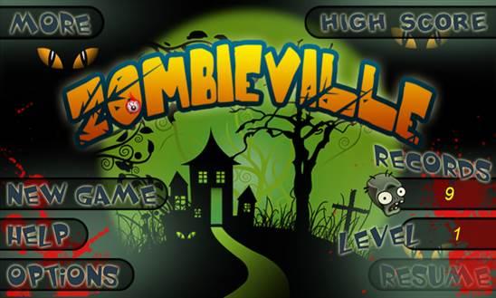 zombies village game windows phone 8 logo