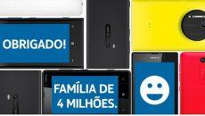 Nokia Brasil atinge marca de 4 milhões de curtidas no Facebook e comemora com Lumia 820 a R$ 799