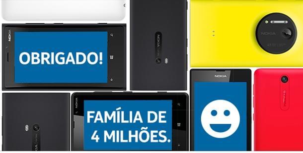 familia lumia brasil 4 milhoes