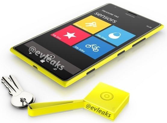 Nokia Lumia 1520 treasure tag