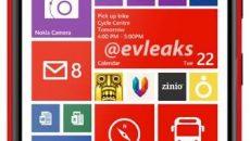 Imagem do Phablet Nokia Lumia 1520 vermelho vaza na web