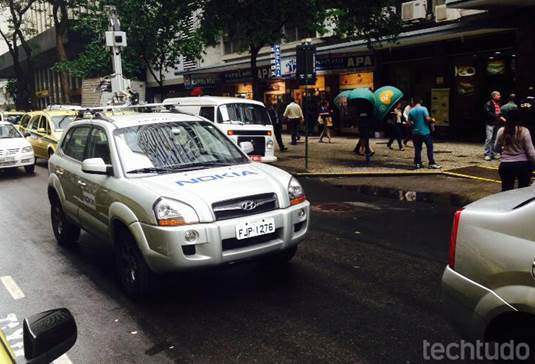 Carro da Nokia é flagrado capturando imagens para lançar algo semelhante ao Street View da Google