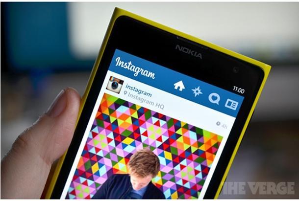 Instagram windows phone app oficial