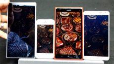 Comparativo mostrou que o Lumia 1520 tem a melhor tela para leitura à luz do dia
