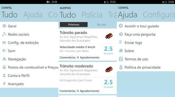 Waze app oficial windows phone 8 img3