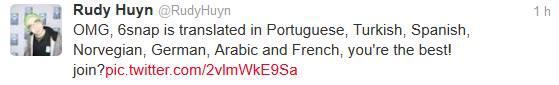 6snap app windows phone traduzido para portugues twitter