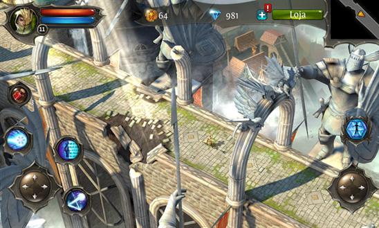 Dungeon hunter windows phone jogo img2