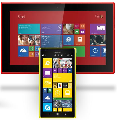 lumia 1520 lumia 2520