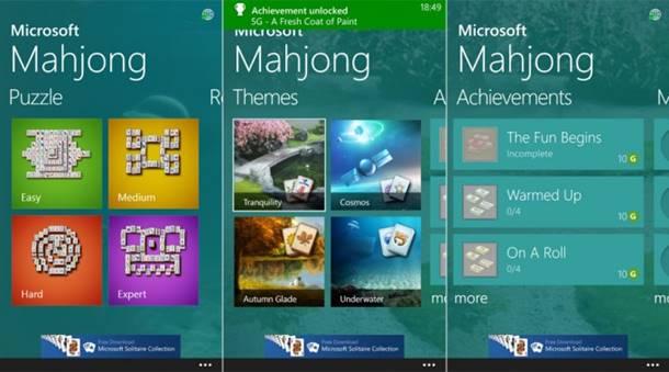 mahjong jogo windows phone microsoft img1