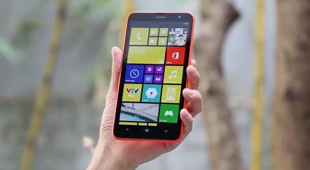nokia lumia 1320 handson